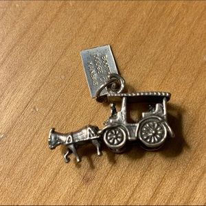 Sterling charm for kansas - Horse and cart